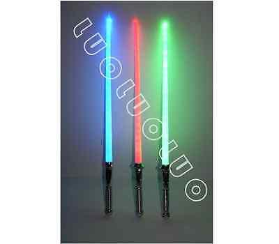 LOT OF 4  STAR WARS LIGHTSABER LIGHT SABER SWORD TOY BEST - Star Wars Saber Sword