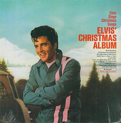 ELVIS PRESLEY Elvis' Christmas Album LP RARE SEALED VINYL CUT-OUT