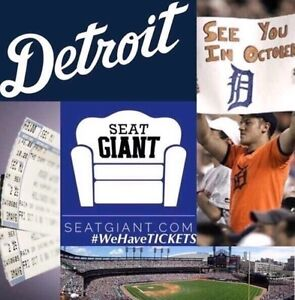 DETROIT TIGERS TICKETS FROM $2!!!