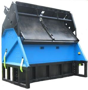 DeSite Vibratory Topsoil / Rock / Compost and Sand Screener