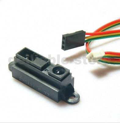 New Arduino Sharp Gp2y0a21 Ir Infrared Range Sensor Cable