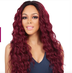 It's a wig synthetic lace front wig swiss lace Boston - 1B