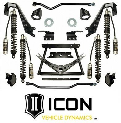 "ICON 1.75-3"" Stage 3 Complete Coilover Conversion System 07-17 Jeep Wrangler JK"