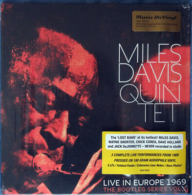Miles Davis Quintet* – Live In Europe 1969 Vol. 2 4xLP VINYL LP NEW!