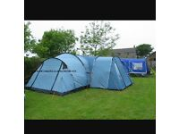 Vango Tigris 800 Tent with footprint, carpet and side extension