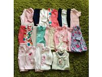 Baby girls clothes / sets 3-6 months