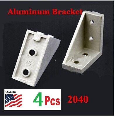 4 Pcs 20401838 Corner Fitting Angle L Bracket Connector Industrial Aluminum