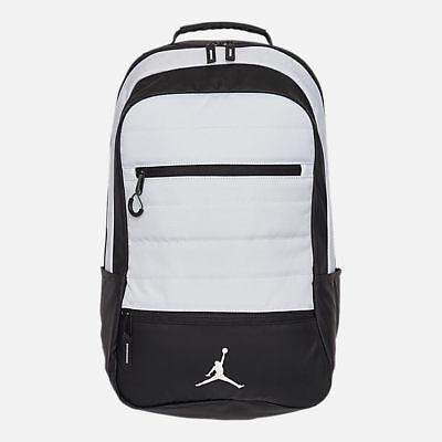 NEW Nike Air Jordan Airborne Backpack Black White 9A1944 001  85 Retail 892514a6f3566