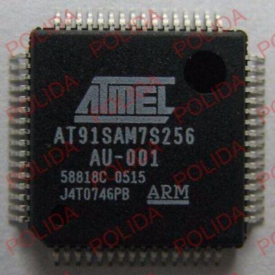 1pcs Mcu Arm Ic Atmel Lqfp-64 At91sam7s256-au-001 At91sam7s256-au At91sam7s256