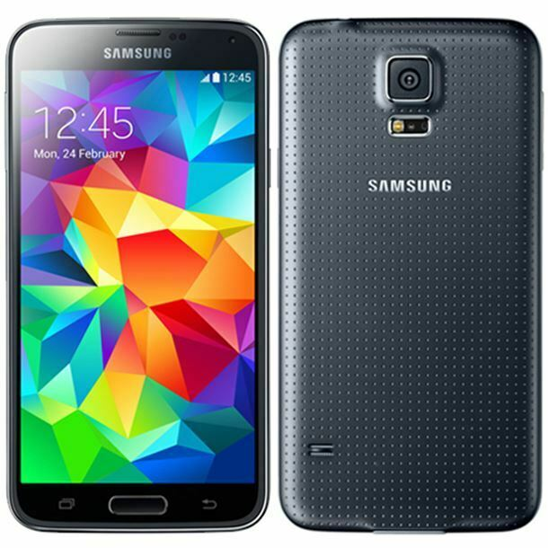 Android Phone - Samsung Galaxy S5 16GB Black Refurbished