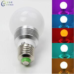 e26 e27 magic lighting led light bulb remote with 16 different colors 5 modes ebay. Black Bedroom Furniture Sets. Home Design Ideas