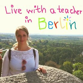 German Language Course - Live with a teacher in Berlin