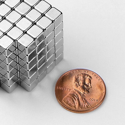 5 Mm 316 N52 Strong Rare Earth Neodymium Crafts Fridge Magnet Cube