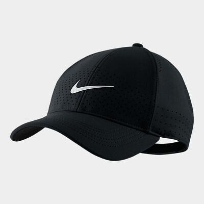 Nike Adult Unisex AeroBill Legacy 91 Snapback Hat Cap AV6953-011 1Size Black