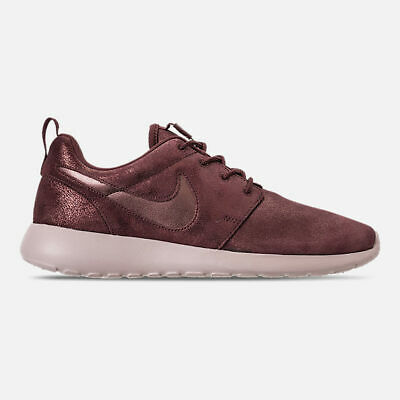 Women's Nike Roshe One Premium Casual Shoes Metallic Mahogany Size 6.5 7 7.5 (Mahogany Casual Shoes)