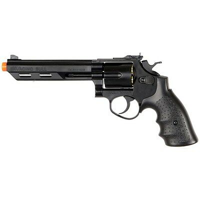 - 350 FPS HFC 357 MAGNUM GREEN GAS METAL AIRSOFT REVOLVER PISTOL GUN BB BBs Shells