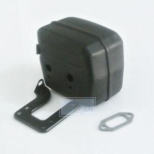 Exhaust Muffler & Bracket Set Fit HUSQVARNA 61 268 272 Chainsaw