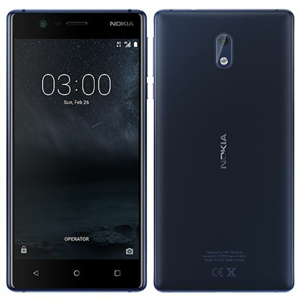 Android Phone - NOKIA 3 16GB Black - Unlocked - Smartphone Mobile Phone Android