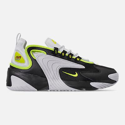 AO0269-004 Nike Zoom 2K Casual Shoes Black/Volt-White Sizes 8-13 NIB