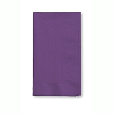 PURPLE (50) BANQUET DINNER PAPER NAPKINS Party Supplies!! For Any Party! (Dinner Napkins Paper)