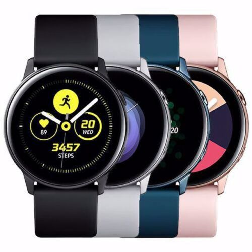 Samsung Galaxy Watch Active SM-R500 GPS & Bluetooth® 40mm Aluminum