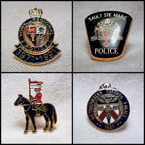 POLICE SHERIFF LAW ENFORCEMENT LAPEL PINS AND MINI BADGES