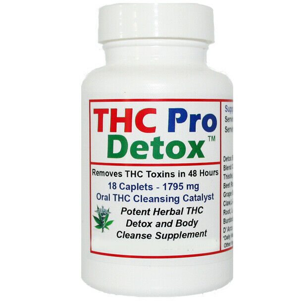 THC Pro Detox - 2 Days To Remove THC Metabolites - Made in USA + Test Strip 1