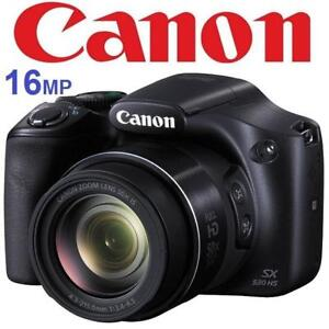 RFB* CANON SX530 POWERSHOT CAMERA 9779B001 136290298 16MP DIGITAL 50X OPTICAL ZOOM 24-1200MM WIFI REFURBISHED