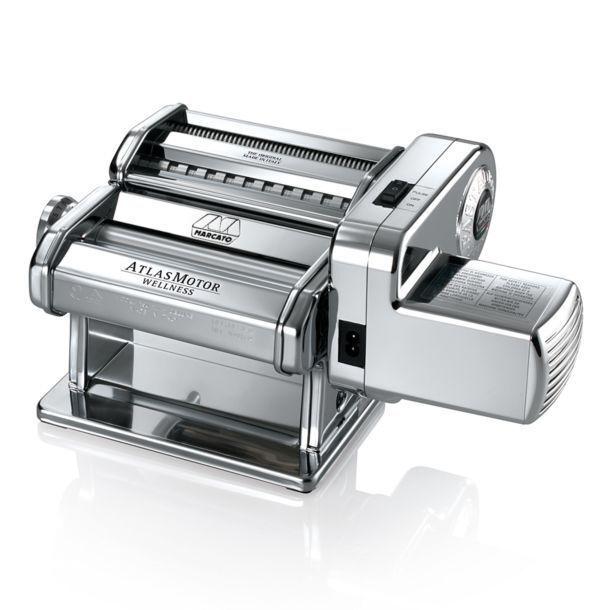 Marcato Atlas Motor 150 mm Dough Sheeter | Sewing Machine La Pasta Home Brew &