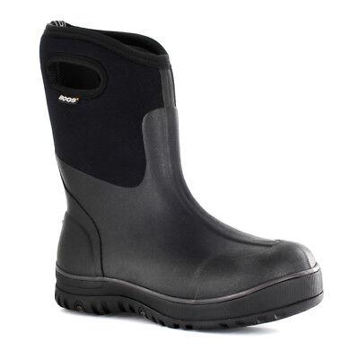 Bogs Men's Classic Ultra Mid Black WF Boots 51407-001 Classic Ultra Mid Boot