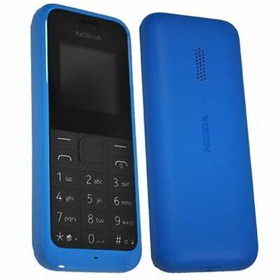NEW CONDITION NOKIA 105 UNLOCKED BLACK/BLUE MOBILE PHONE