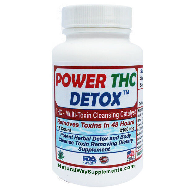THC DETOX - Multi Toxin 2 Days To Cleanse Formula,  Quick Results,  Made In USA