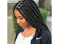 Birmingham hairdresser/hairstylist for braids, wig making and haircare