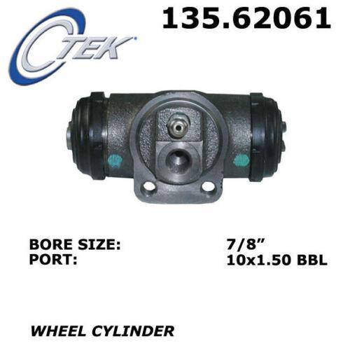Drum Brake Wheel Cylinder-C-TEK Standard Wheel Cylinder Rear Centric 135.62061