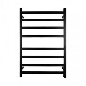 Black Electric Heated Towel Rack 8 Bars Guildford Parramatta Area Preview