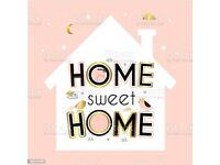 Family house/flat WANTED (2-3 beds)
