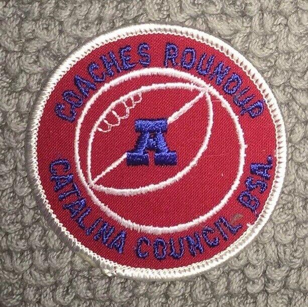 Boy Scout Catalina Council University Of Arizona Coaches Round Patch Arizona RC3