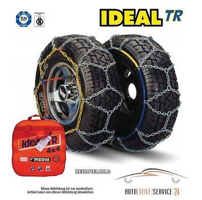 Ideal Schneeketten 15 16 17 Zoll Größe 100GR/9mm Reifenkette Kettensatz