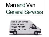 MAN & VAN SERVICE FULLERS FREIGHT