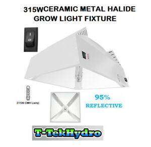T&T Hydroponic: LEC 315W GROW LIGHT FIXTURE (ARMOUR SERIES)