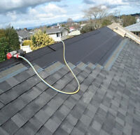 Last chance Roofing! Opening for the weekend of Sept 21, 22, 23.
