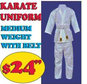 KARATE SUIT, MEDIUM WEIGHT, (905) 364-0440 WWW.FIGHTPRO.CA