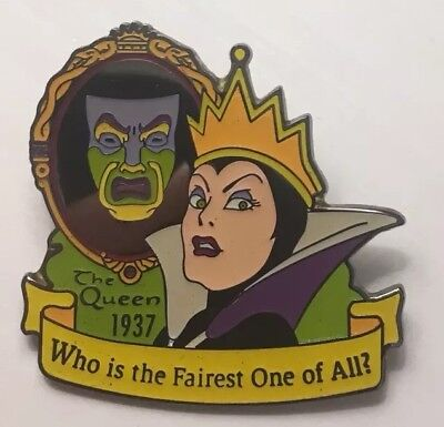 Disney Store - Countdown to the Millennium - Evil Queen Snow White Pin