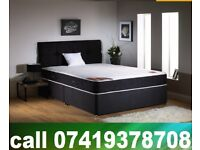 Double King Size Divan Bed