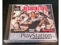 RETRO GAMING - RESIDENT EVIL PLAYSTATION PS1 RARE / COMPLETE