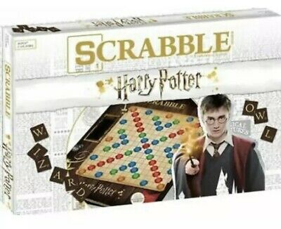 SCRABBLE: World of Harry Potter Hermoine Weasley Malfoy Dumbledore New Authentic
