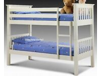 ORDER NOW SPECIAL STYLISH - WOODEN - = = = PINE BUNK BED - BRAND NEW SAME DAY EXPRESS DELIVERY