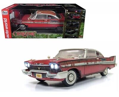1958 Plymouth Fury Dirty Version CHRISTINE 1:18 Auto World Autoworld