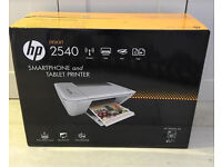 NEW hp deskjet 2540 smartphone and tablet printer & scanner