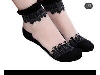 Lace socks new